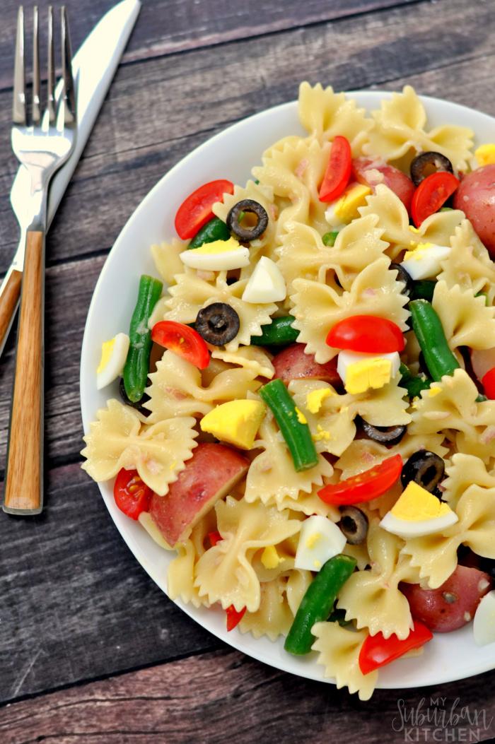 Nicoise Pasta Salad