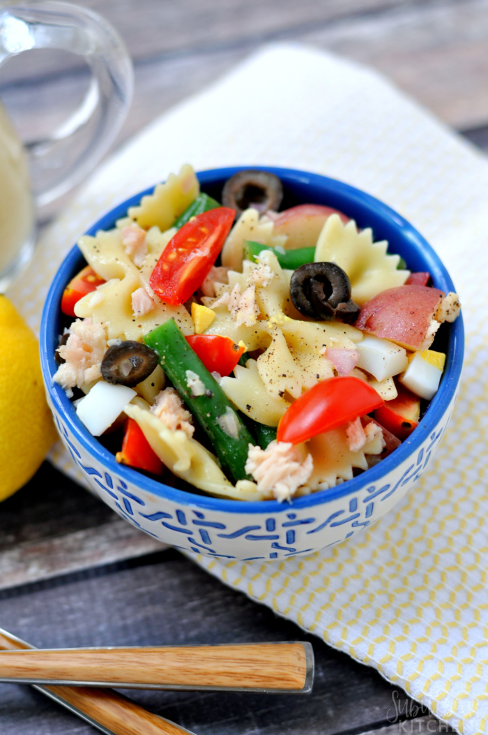 Salad Nicoise Pasta Recipe