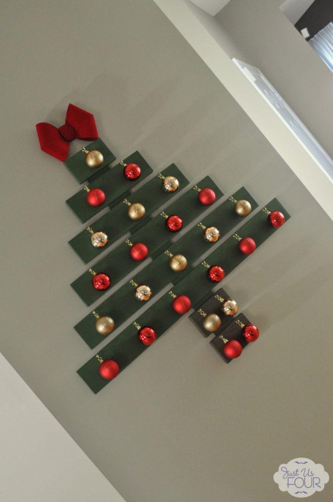 Christmas Tree Advent Calendar Angled View_wm