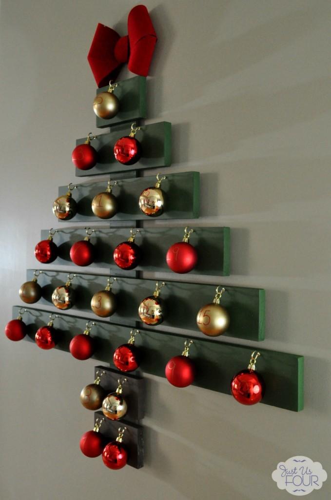 Christmas Tree Advent Calendar Side View_wm