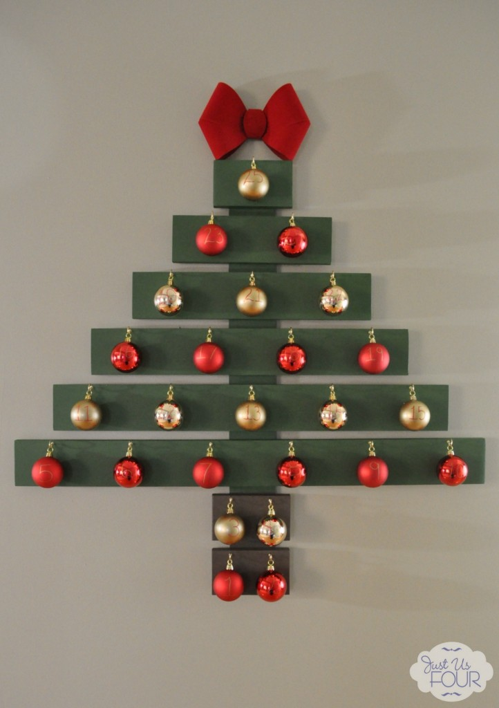 Christmas Tree Advent Calendar with Ornaments_wm