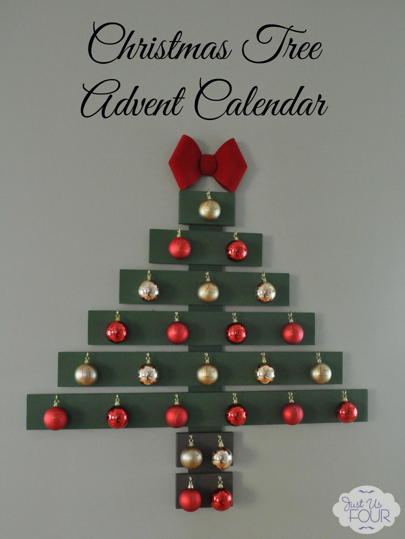 Christmas Tree Advent Calendar - My Suburban Kitchen