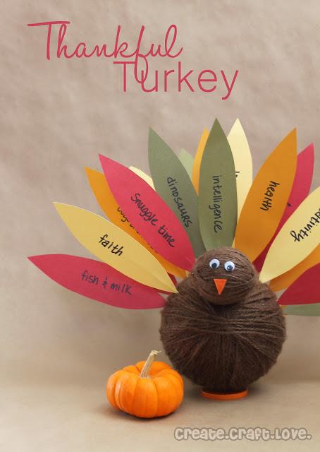 Create Craft Love - Thankful Turkey