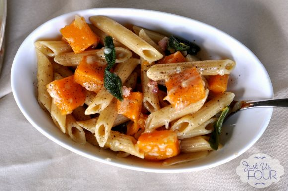 Sage Butternut Squash Pasta Dinner Idea