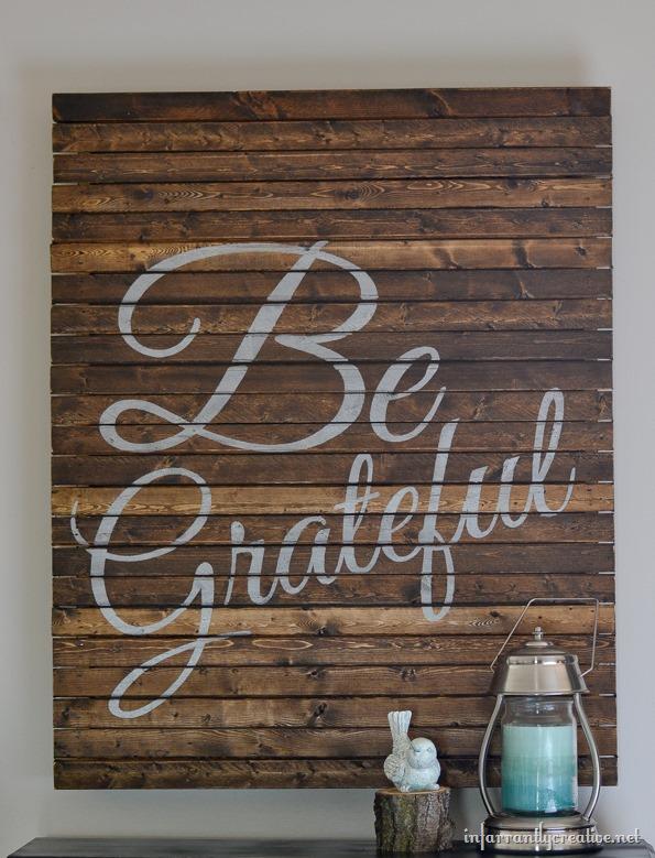 INfarrantly Creative - Thanksgiving Pallet Art