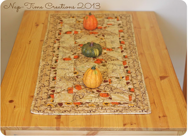 Nap-Time Creations - Quilted Table Runner