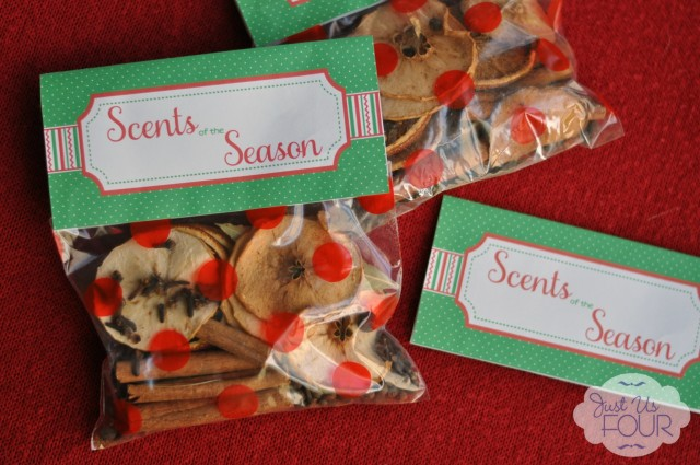Dried Fruit Potpourri Gift Bags