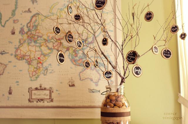 Simply Vintage Girl - Thankful Tree