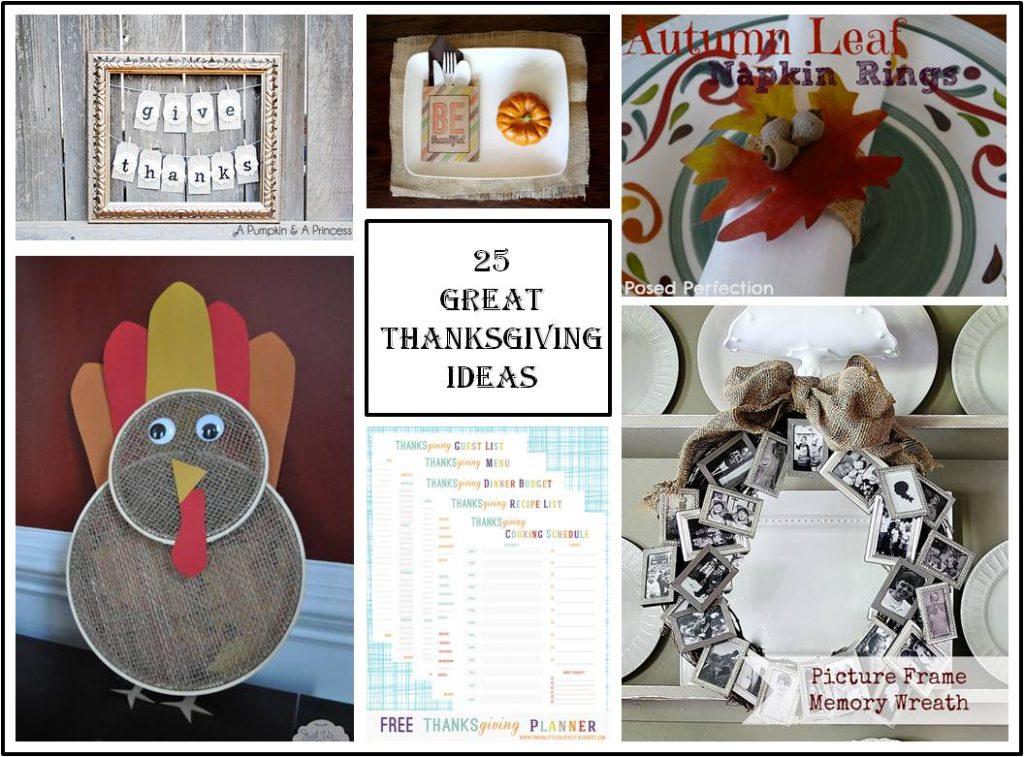 Thanksgiving Collage