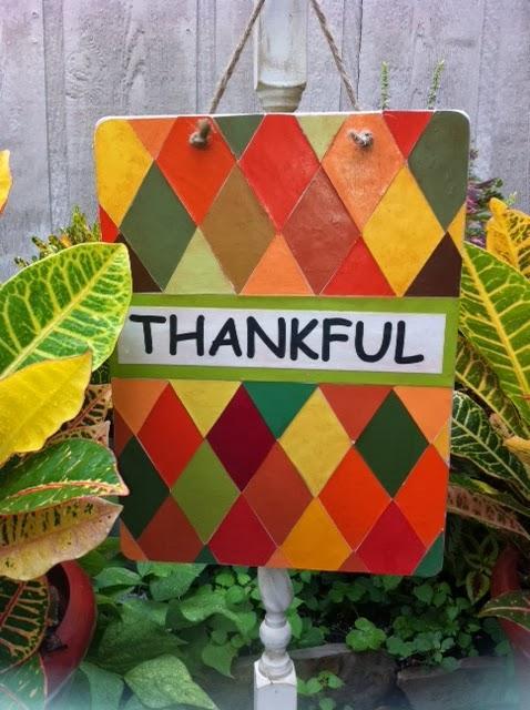 The Craft Dictator - Thankful Sign