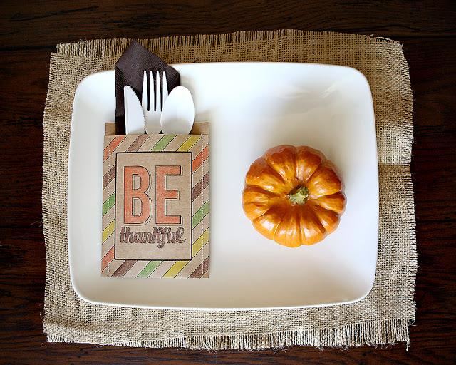The Idea Room - Be Thankful Utensil Holders