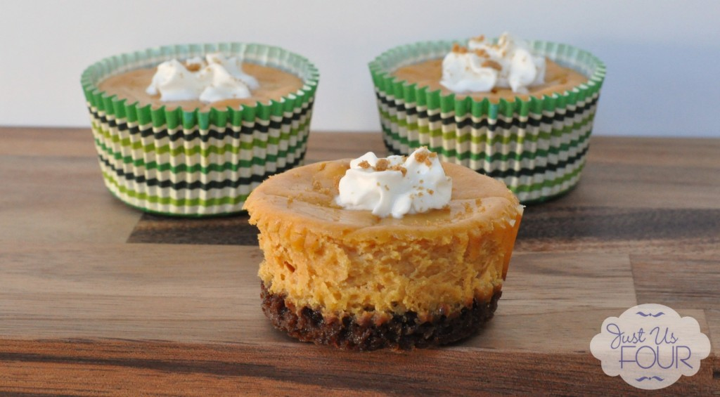 Three pumpkin cheesecake bites_wm