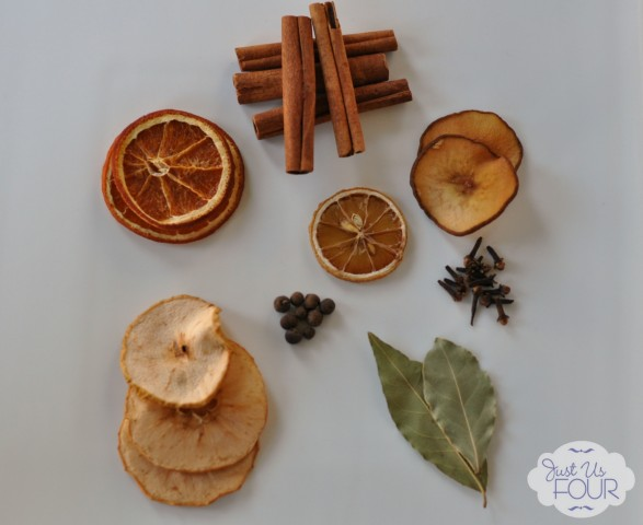 Dried Fruit Potpourri - a perfect handmade gift