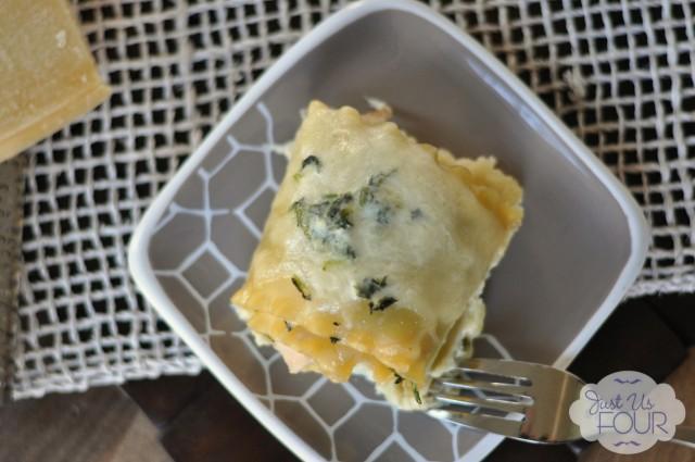 Turkey and Spinach Lasagna Roll Ups