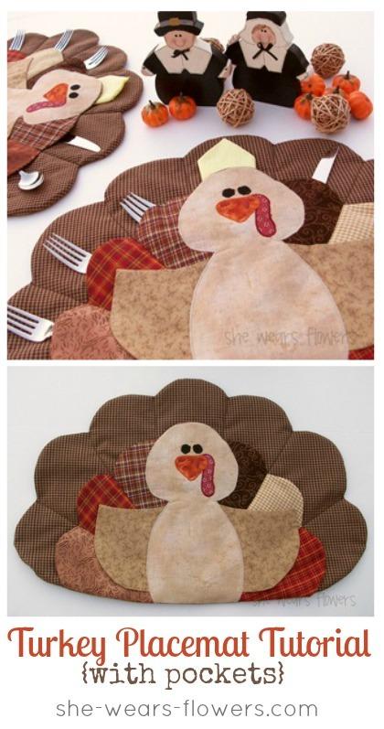 U Create Crafts - Turkey Placemat