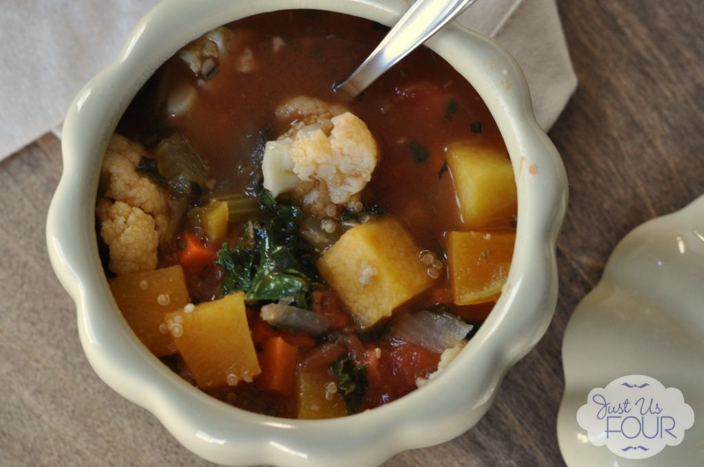 Vegetable Quinoa Soup: Progressive Thanksgiving Dinner Recipe