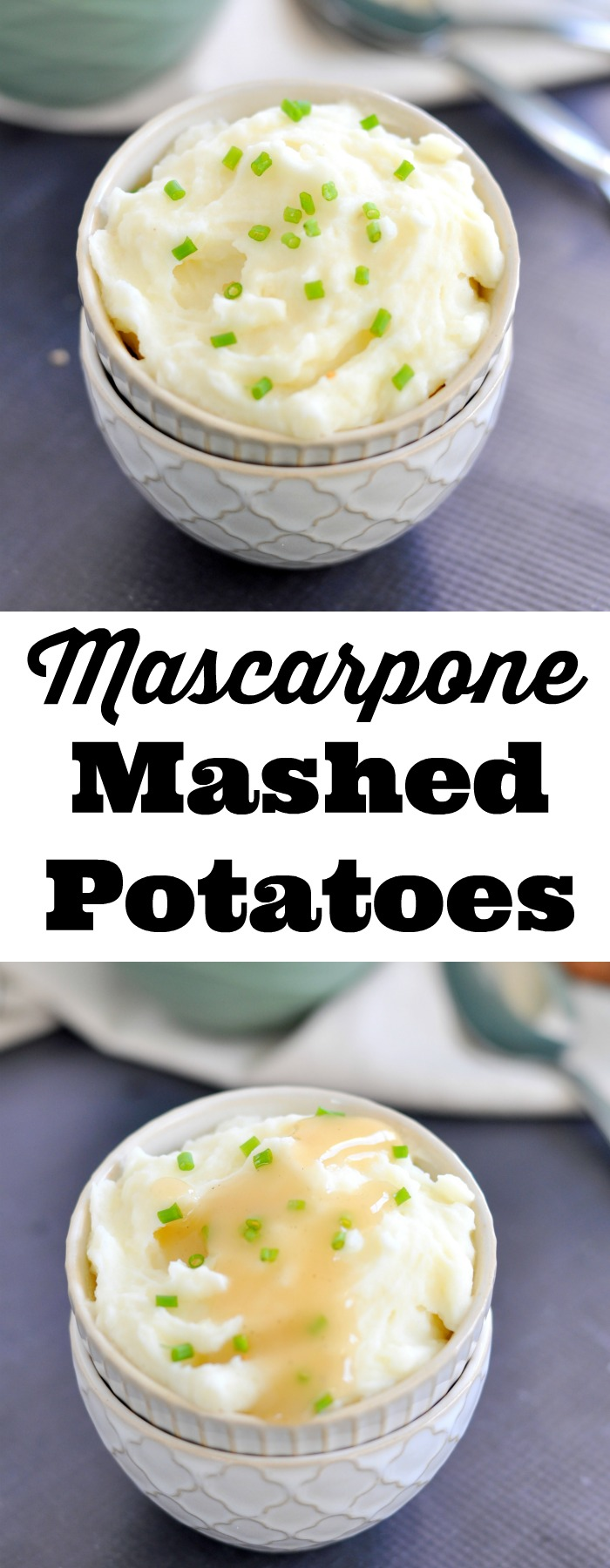 Add a little extra creaminess to a side favorite when you make mascarpone mashed potatoes!