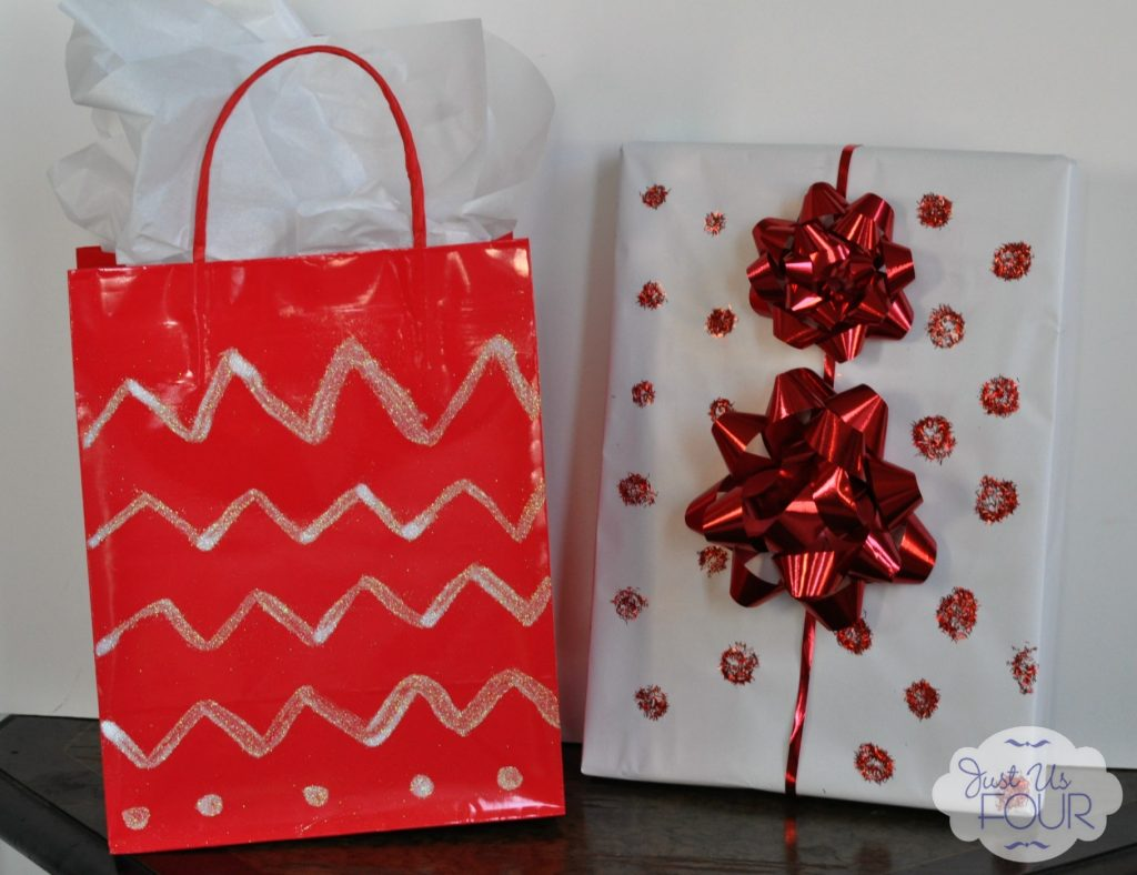 Glittered Wrapped Gifts_wm