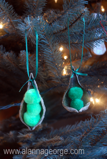 guest blogger pea in a pod ornament my suburban kitchen On peas in a pod craft