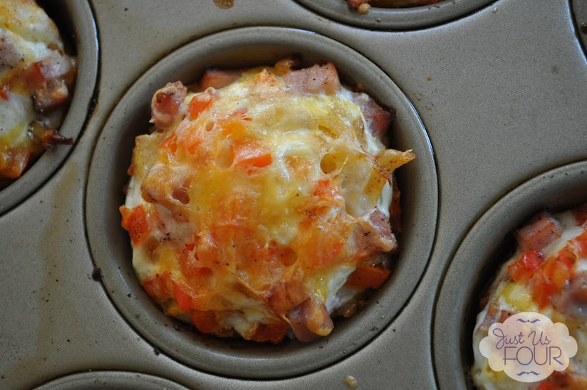 Southwestern Egg Muffins #breakfast #recipes #lowfat