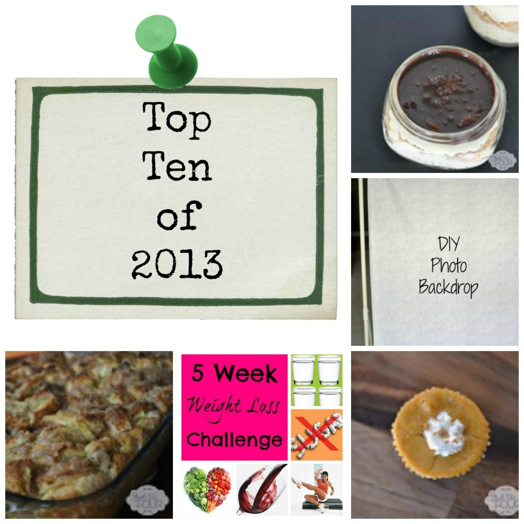 Top Ten of 2013 Collage