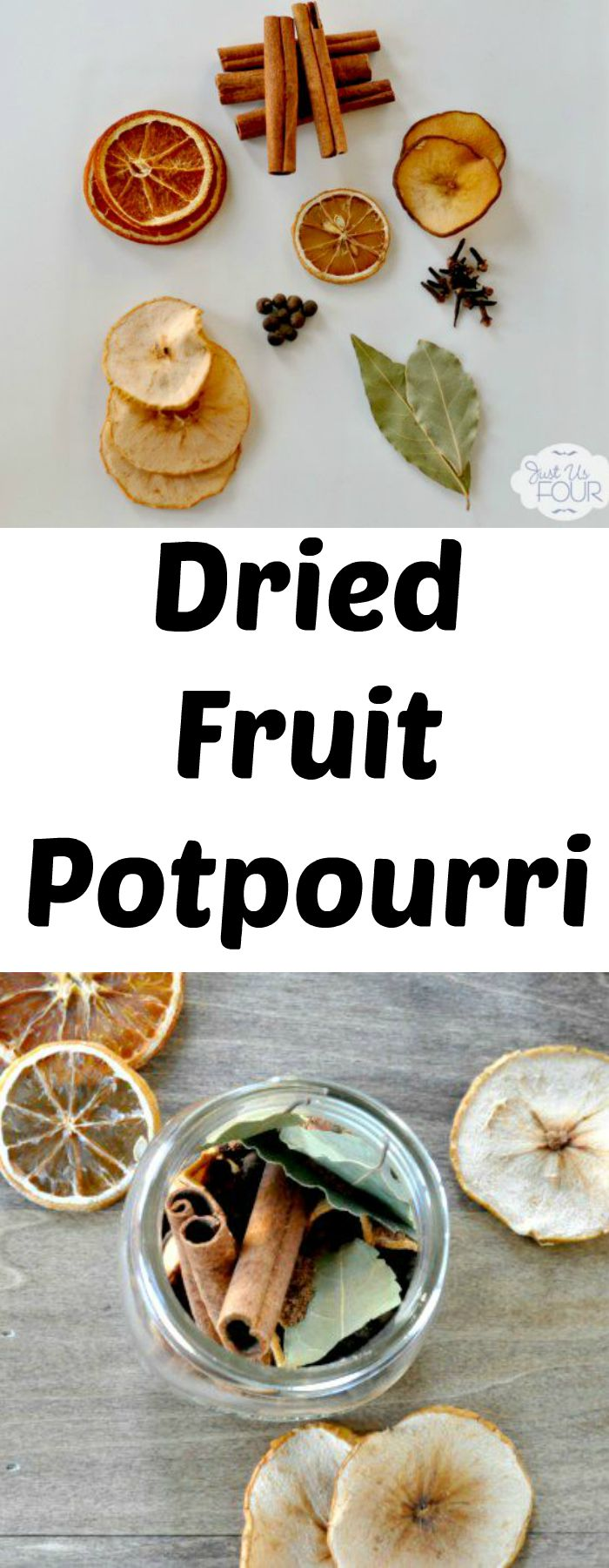 Dried fruit potpourri makes the perfect homemade gift and lasts a long time too.
