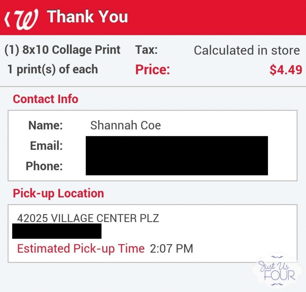 #shop Walgreen Order Confirmation Screen_wm