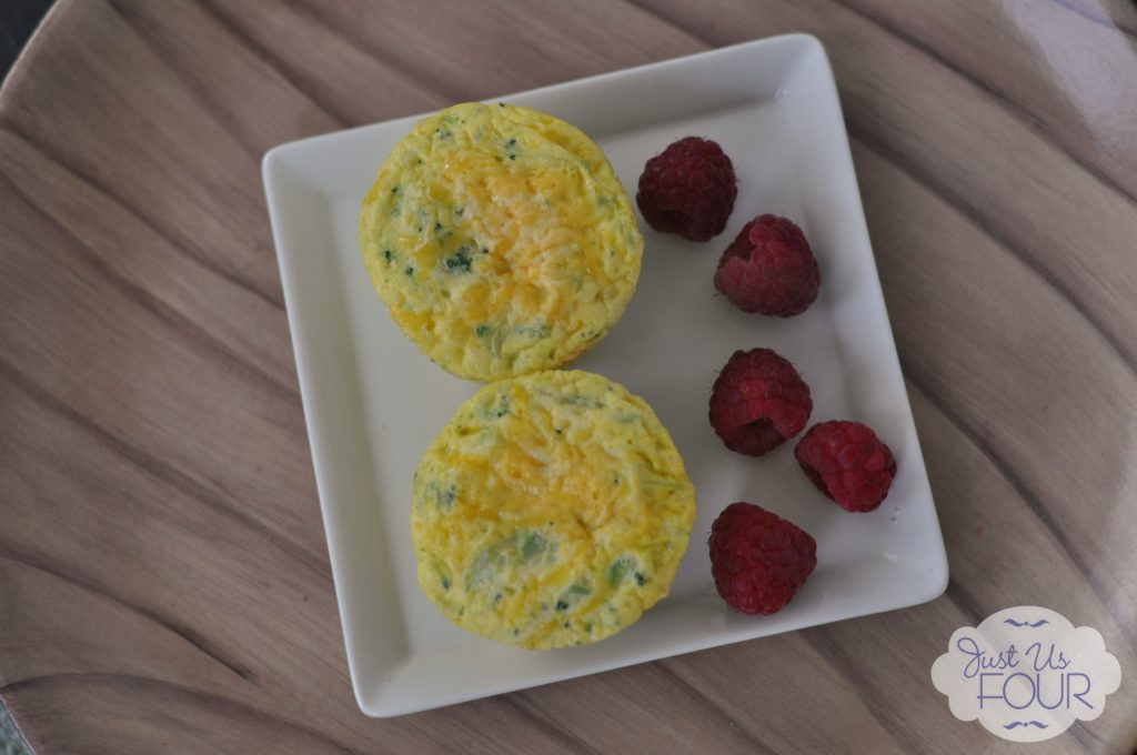 Broccoli and Cheese Muffins on Plate_wm
