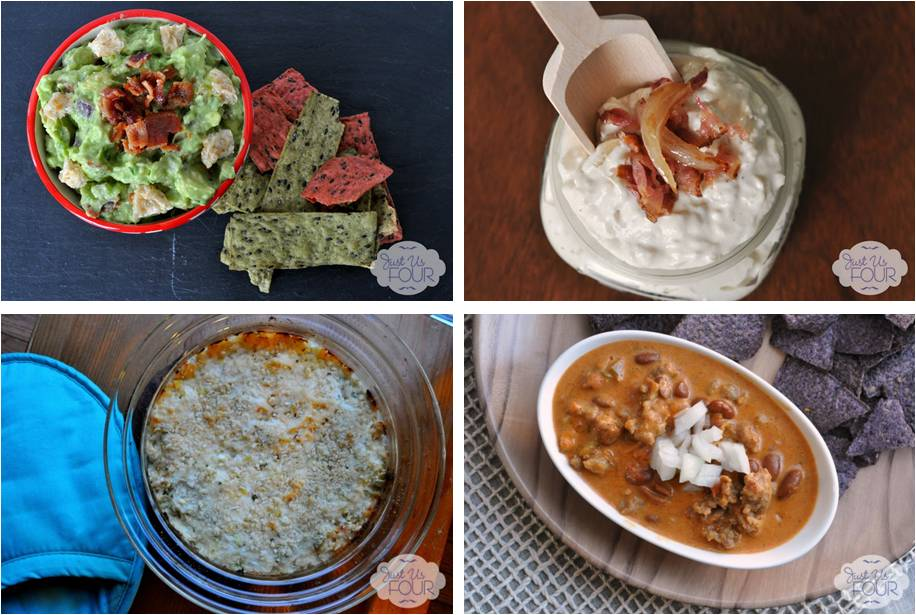 Just Us Four Dip Recipes