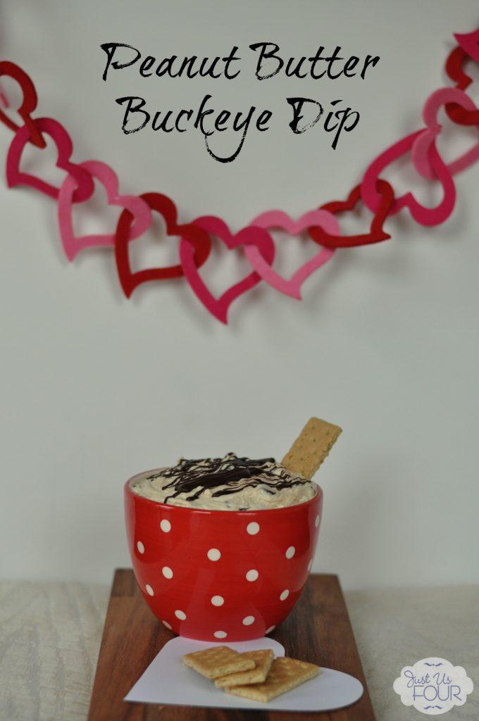 Peanut Butter Buckeye Dip #desserts #recipes #dips