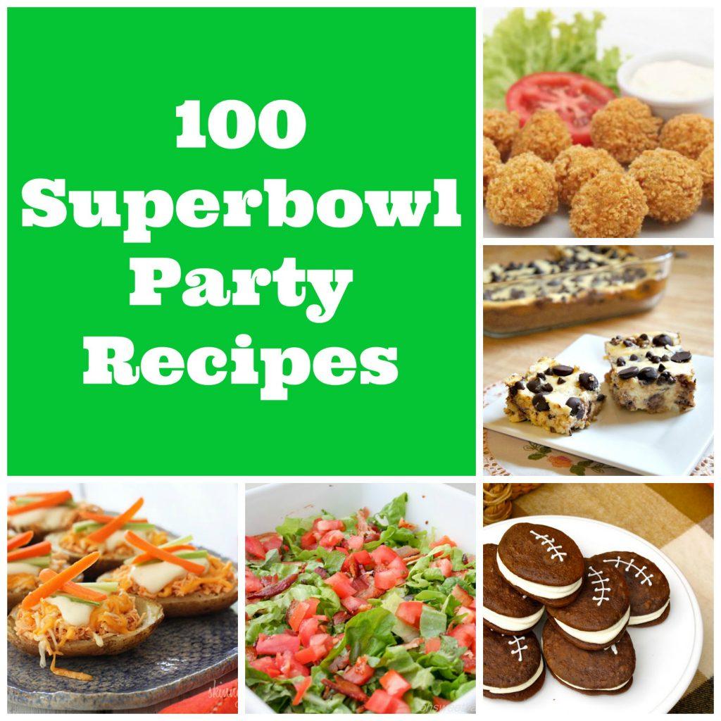 Super Bowl Party Foods Diet