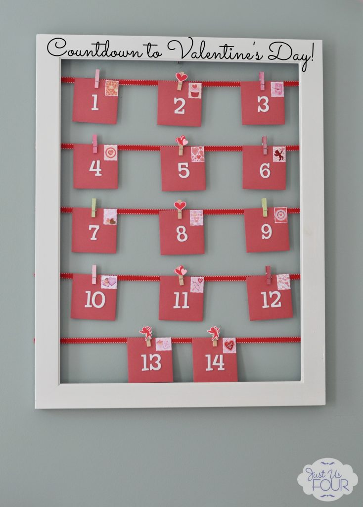Valentine Calendar Ideas : Flashback post valentine s day countdown calendar my