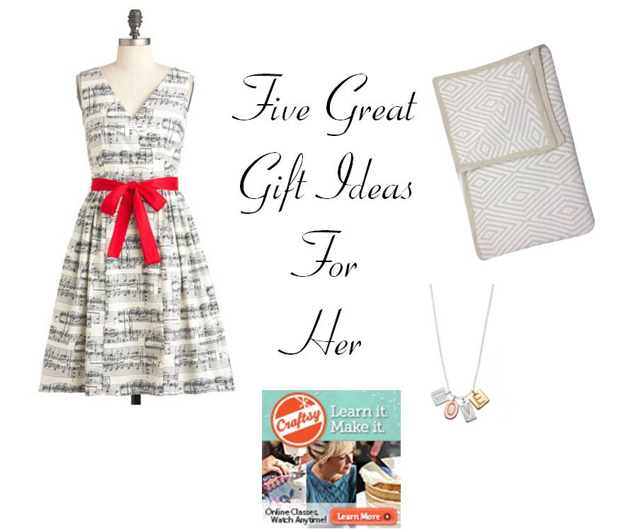 Five Valentine's Day Gifts for Her #giftideas #valentinesday