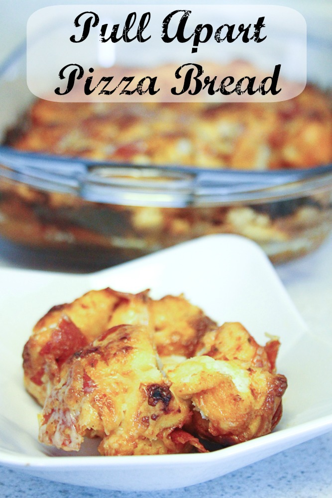 Pull Apart Pizza Bread #recipes #pizza