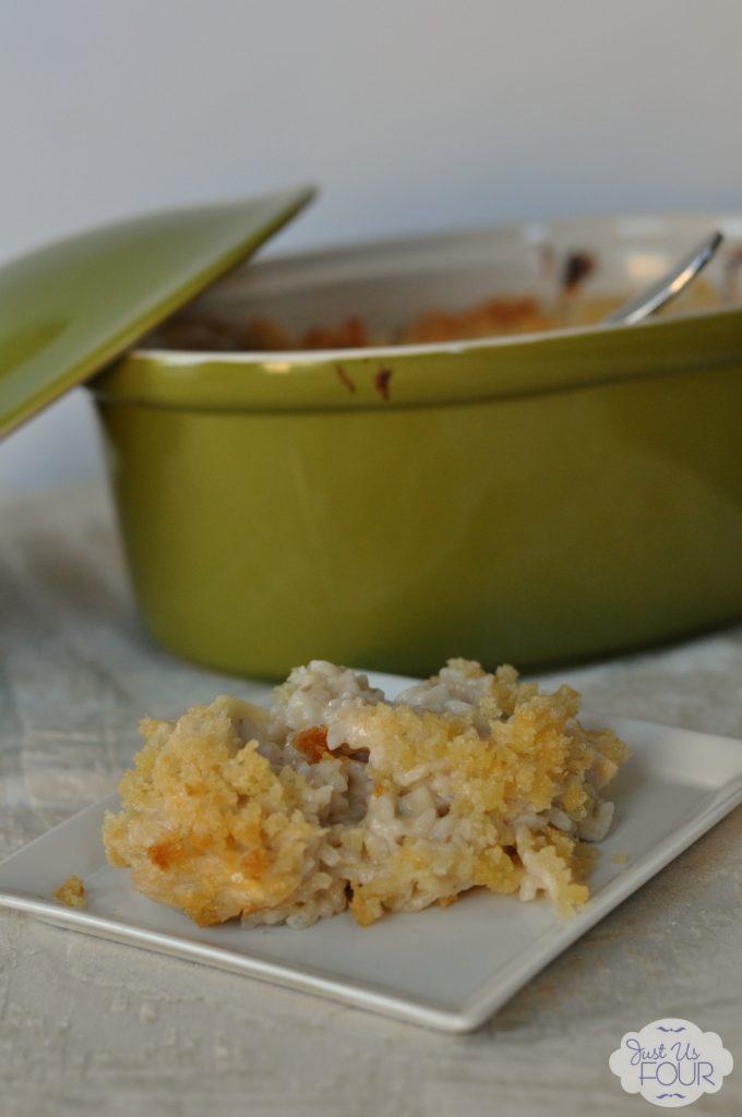 #shop Creamy Chicken and Rice Casserole #JustAddTyson #cbias