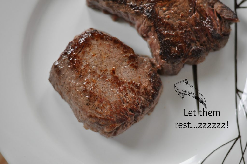 Perfect Valentine's Day Meal - Steak with Mushroom Alfredo and Mini Tres Leche Cakes #Valentines4All #cbias #recipe