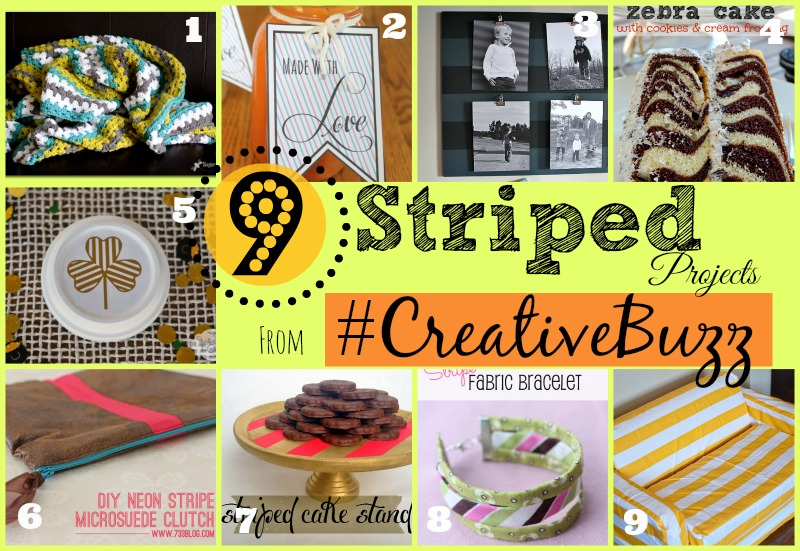 9 Creative Striped Projects