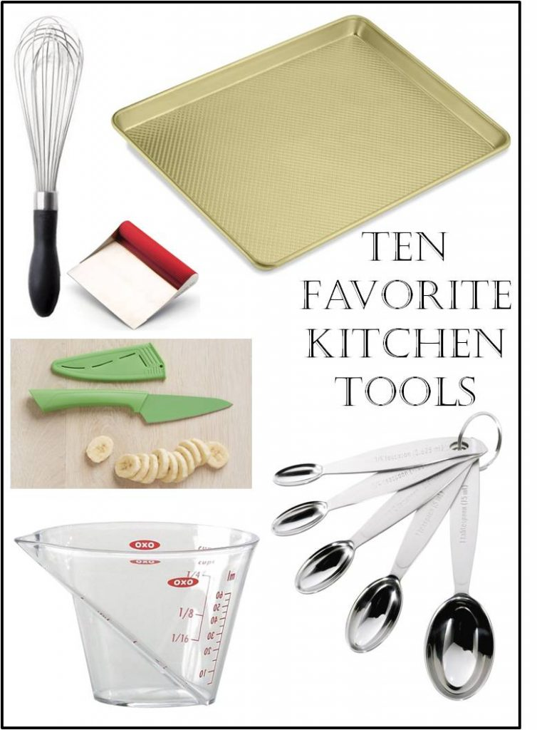 10 Favorite Kitchen Tools #kitchentools #cooking #giftideas