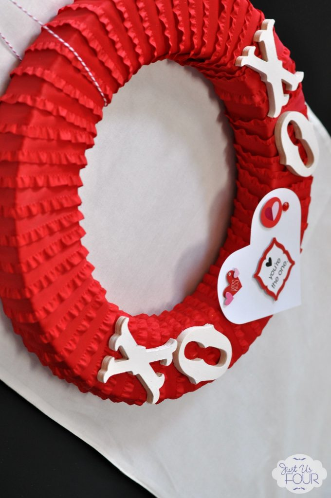 Valentine's Day Ribbon Wreath Angled_wm