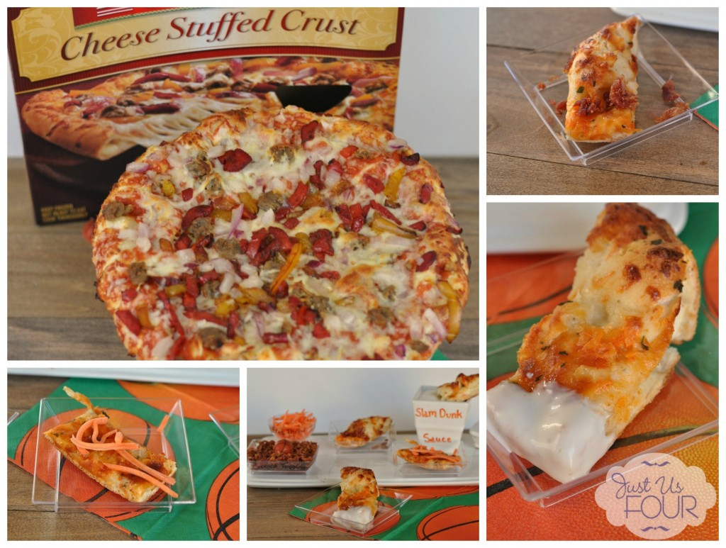 Create an awesome pizza buffet with #NewFavorites and extra toppings. #cbias #shop #pizza