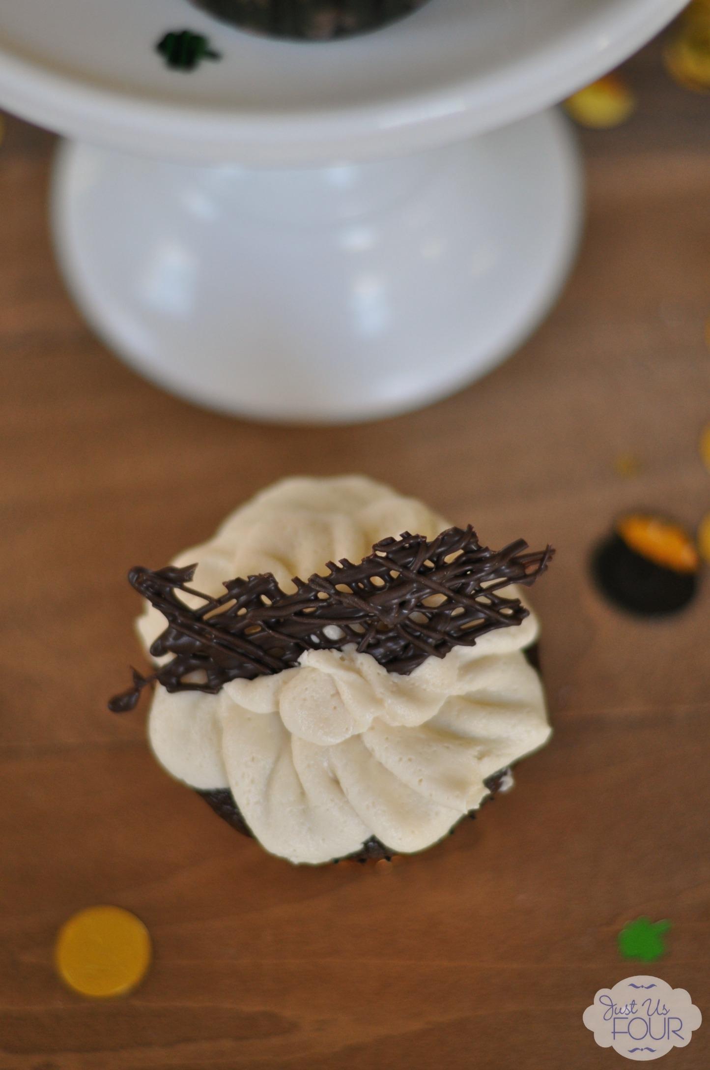 Chocolate Guinness Cupcakes Using Cake Mix