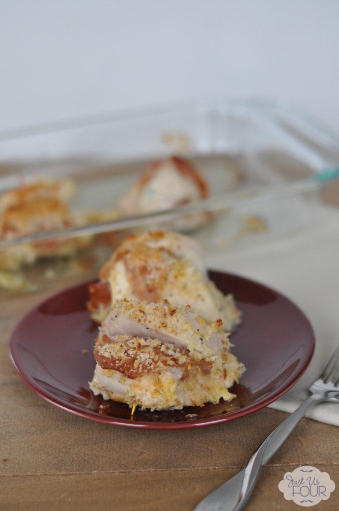 Prosciutto and Poppy Seed chicken roll ups #recipe #chicken