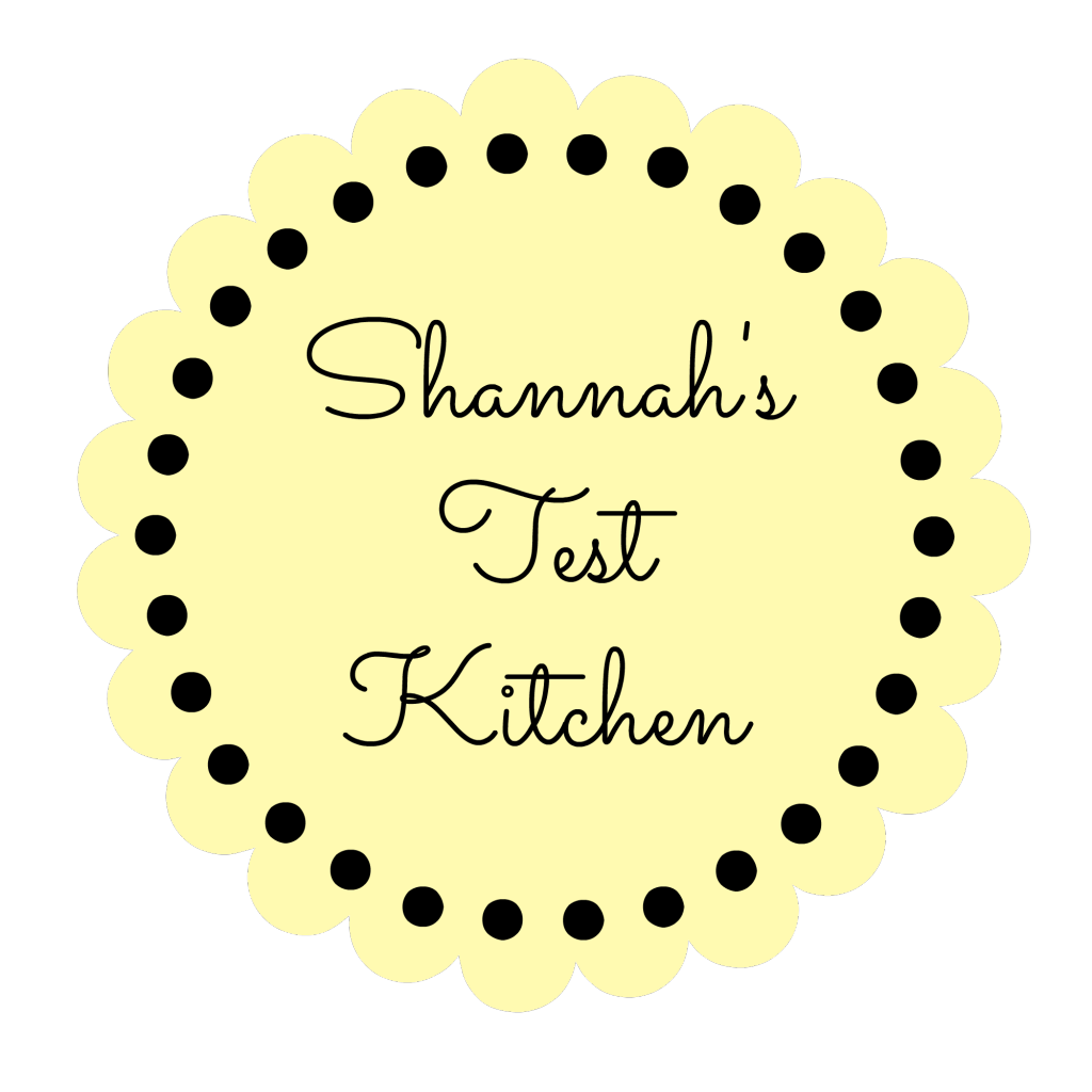 Shannah's Test Kitchen Button