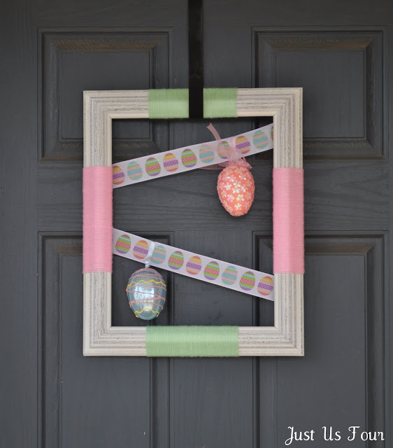 Easter Egg Frame Wreath