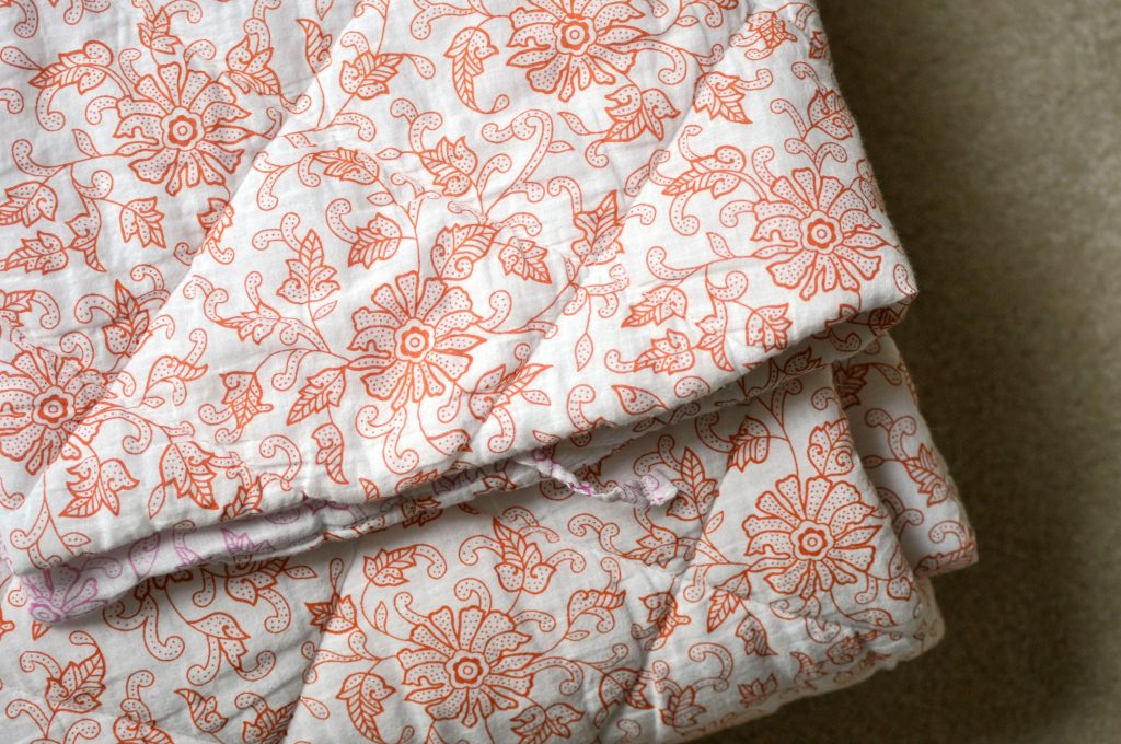 World Market Quilt and Shams