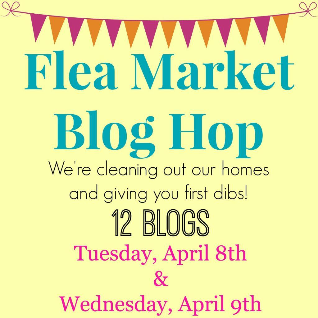 flea market blog hop