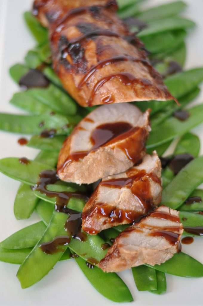 Hoisin Pork with Snow Peas #recipe #pork #dinnertonight