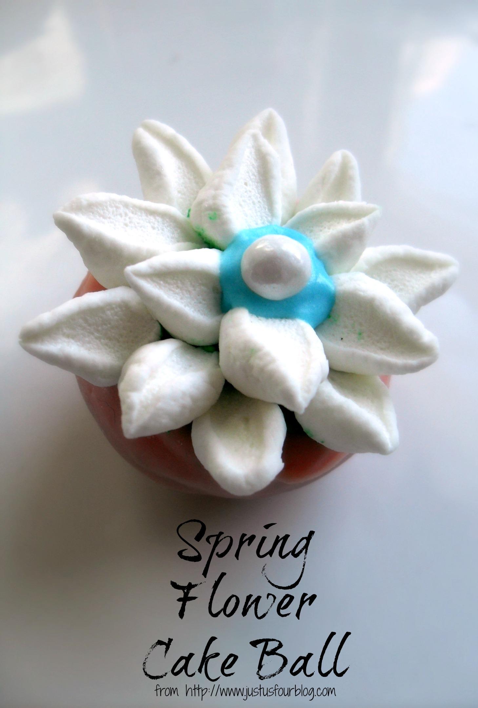 Flower Cake Balls : Spring Flower Cake Balls - My Suburban Kitchen