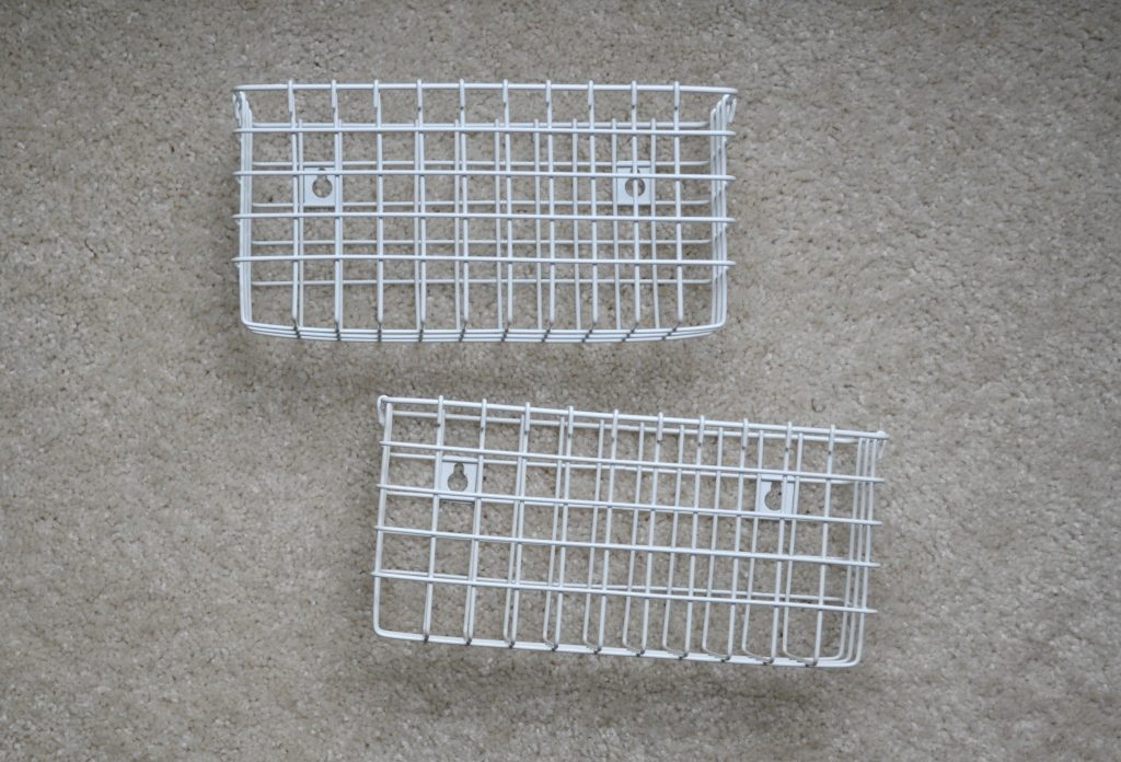 wall mount baskets