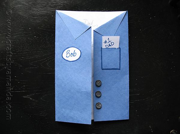 12 - Crafts by Amanda - Uniform Father's Day Card